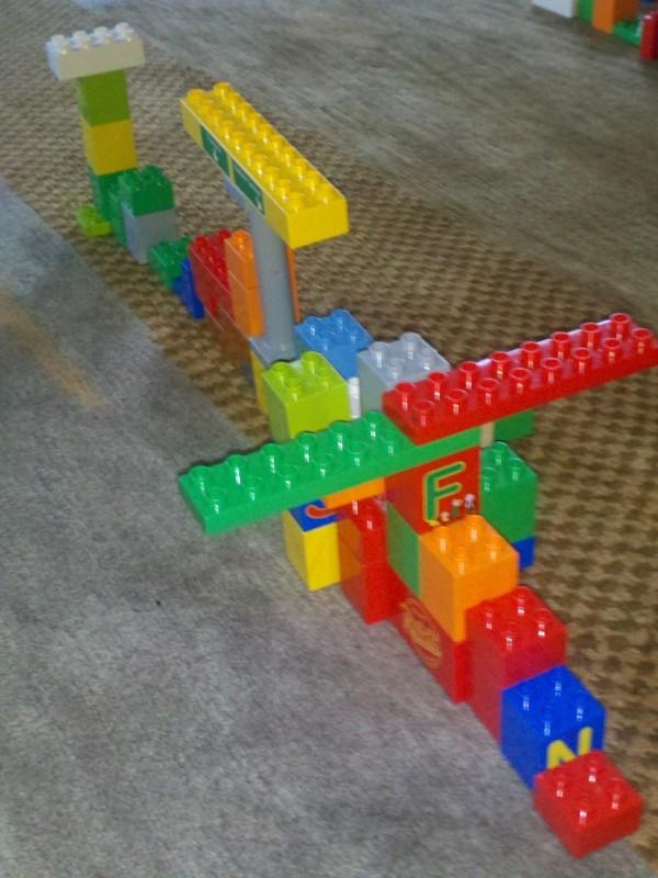 Lego Wipeout course